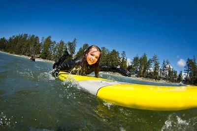 Surfing Tofino, Ucluelet